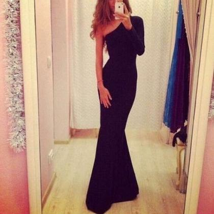 on sale ELEGANT LONG FASHION SEXY SHOULDERS HOT DRESS