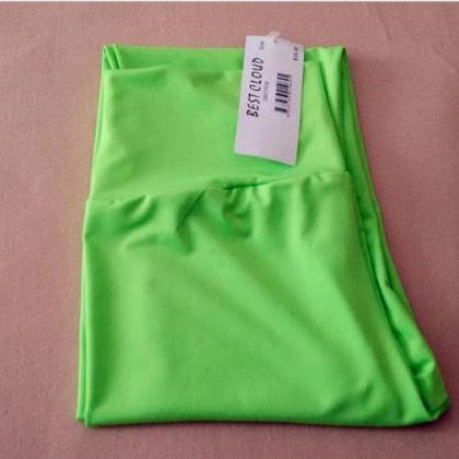 High quality stretch matte leggings..