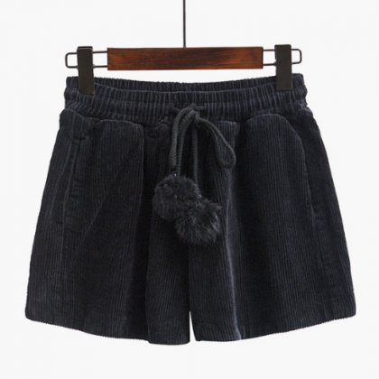 Autumn and winter leisure shorts