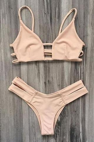 HOLLOW TWO PIECE BIKINI