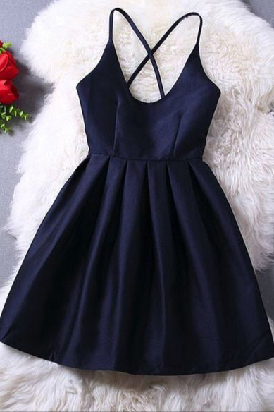 Back cross sling backless sleeveless dress sexy female waist skirt all-match skirt dress