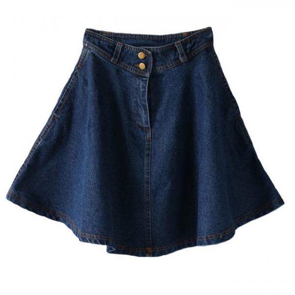 HOT DENIM SEXY FASHION SKIRT